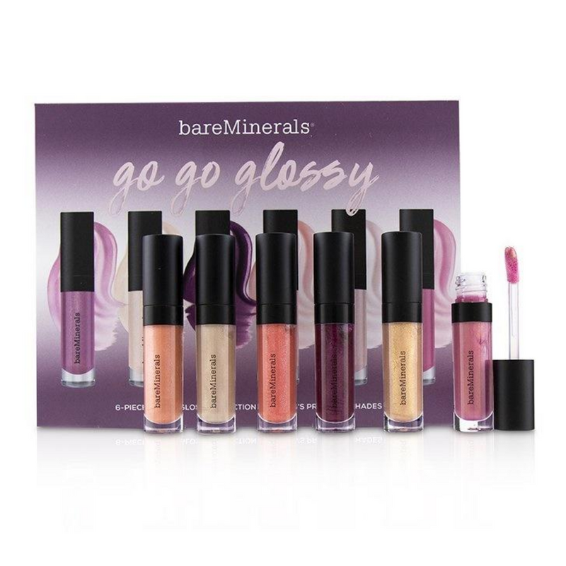 Bare Minerals Go Go Glossy 6-Piece Mini Lipgloss Collection