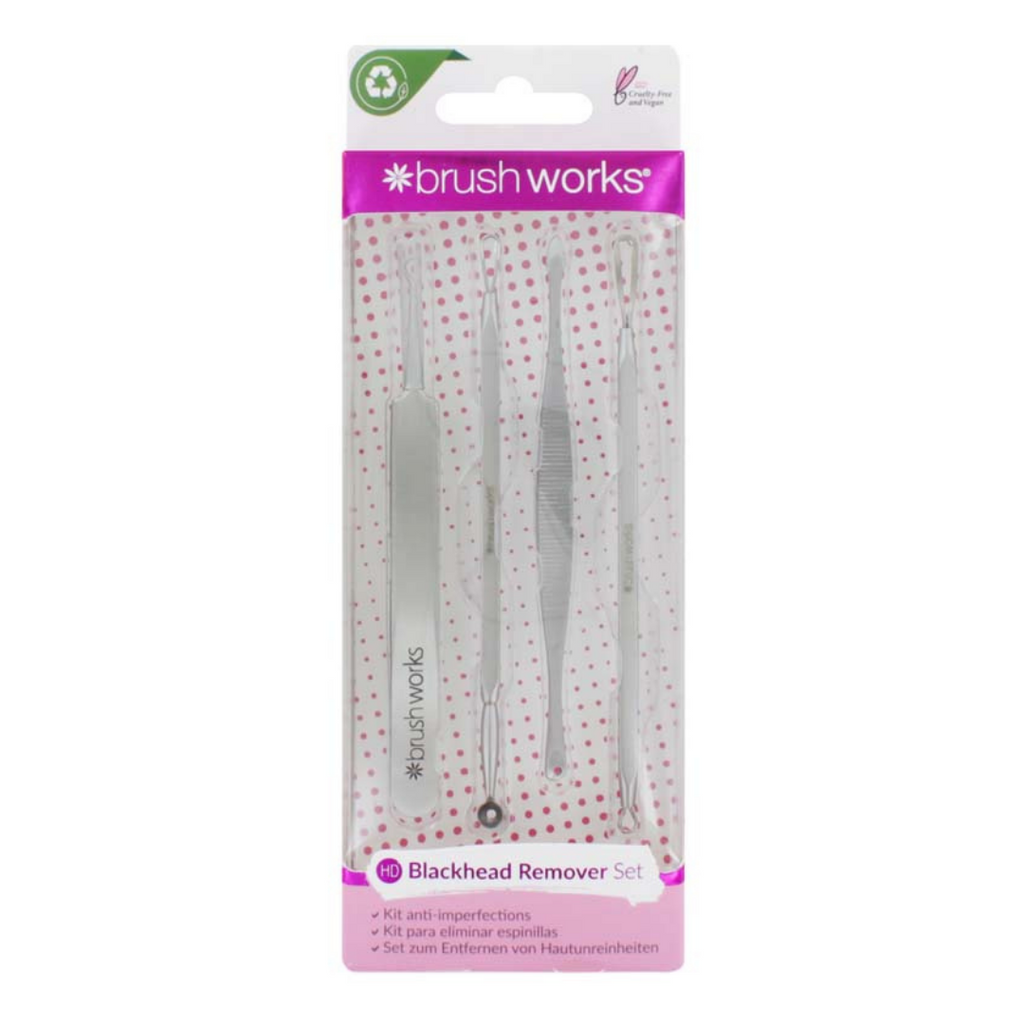 Brush Works Blackhead & Blemish Removal Kit