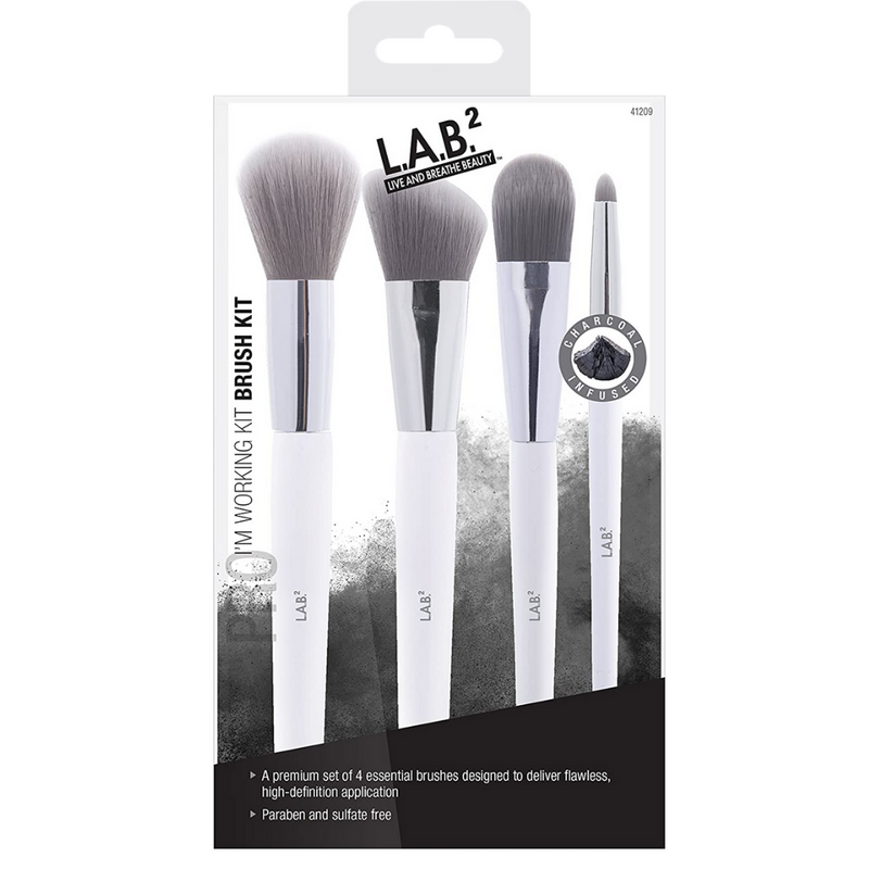 "L.A.B ""I'm Working Kit"" 4 Piece Brush Set"