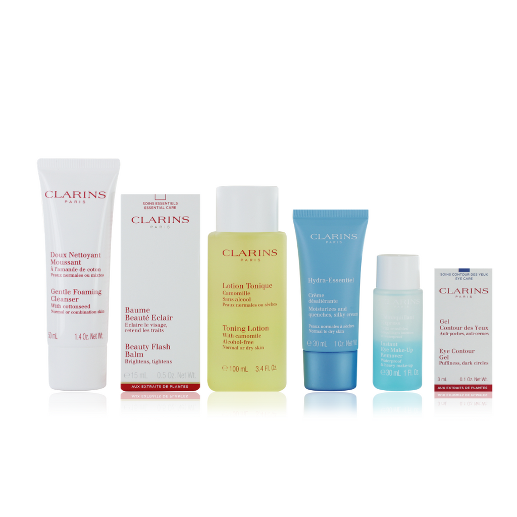 Clarins Grab n' Fly Travel Skincare Set