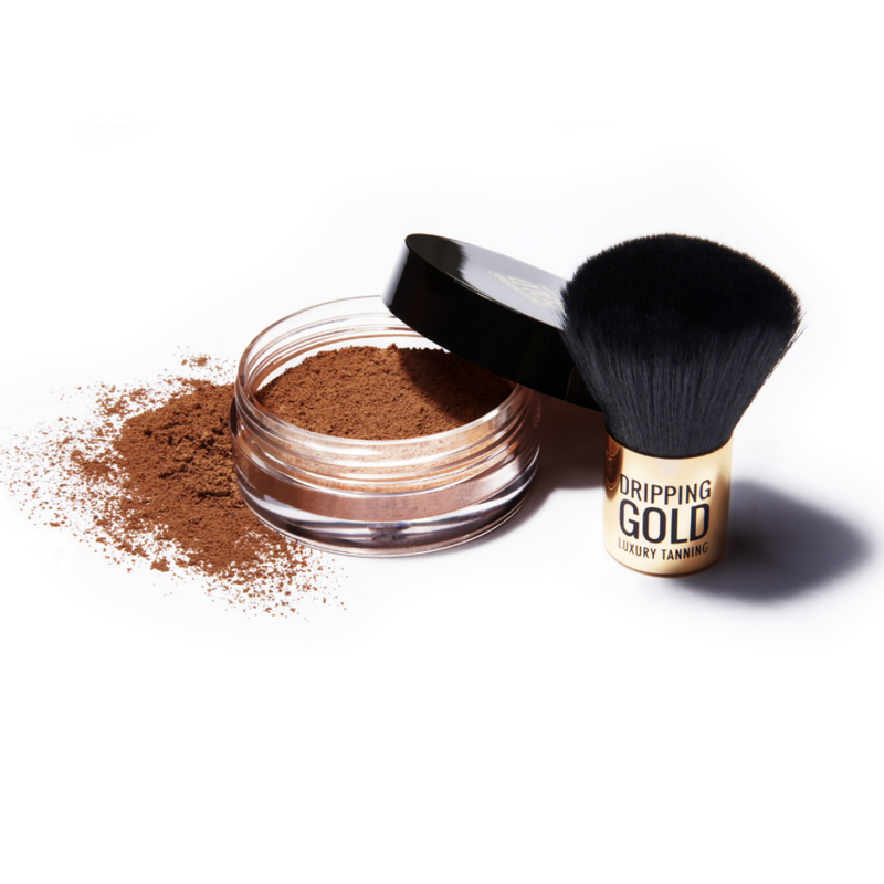 Dripping Gold Self Tan Mineral Powder