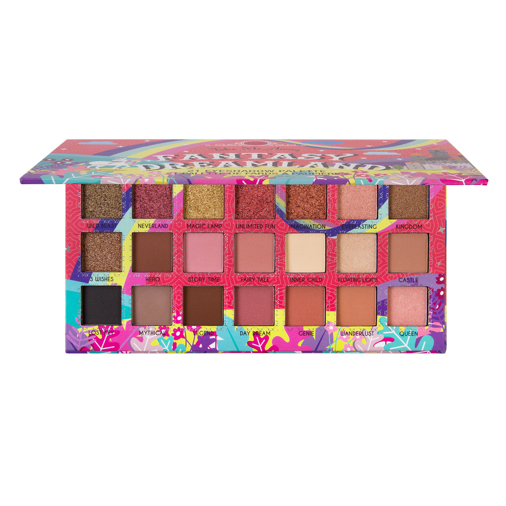 JCAT Take Me Away Fantasy Dreamland 21 Eyeshadow Palette