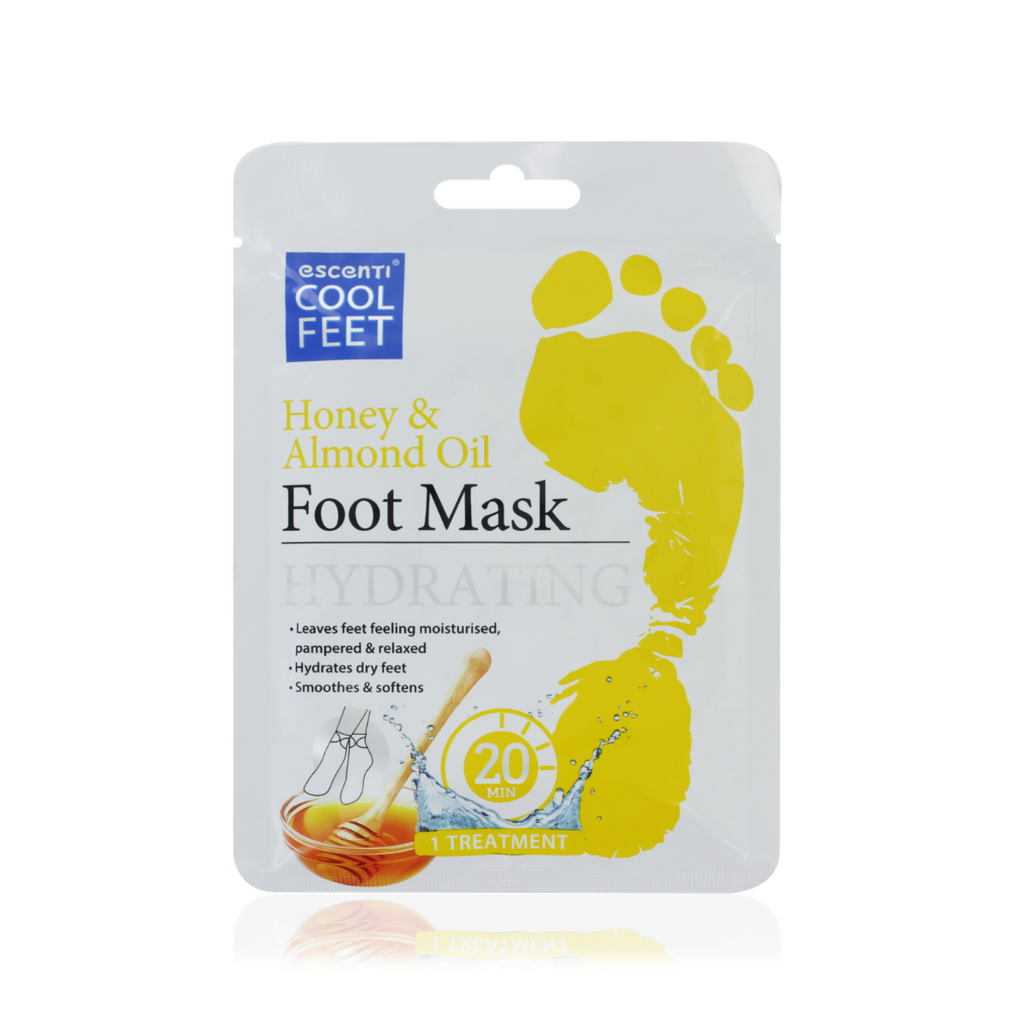 Honey & Almond Oil Hydrating Foot Mask
