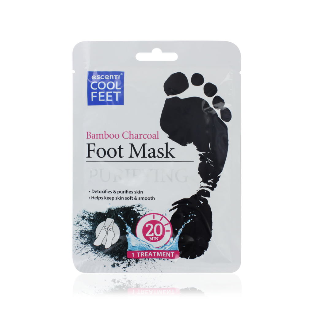Bamboo Charcoal Purifying Foot Mask
