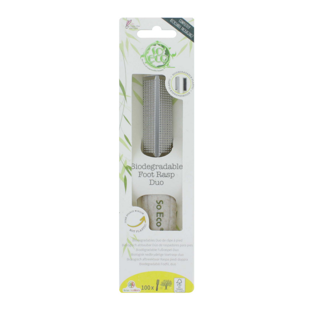 SO ECO Biodegradable Foot Rasp Duo