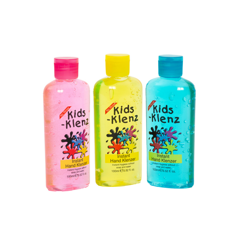 Kidz Klenze 3 Pack 65% Alcohol Hand Cleanser