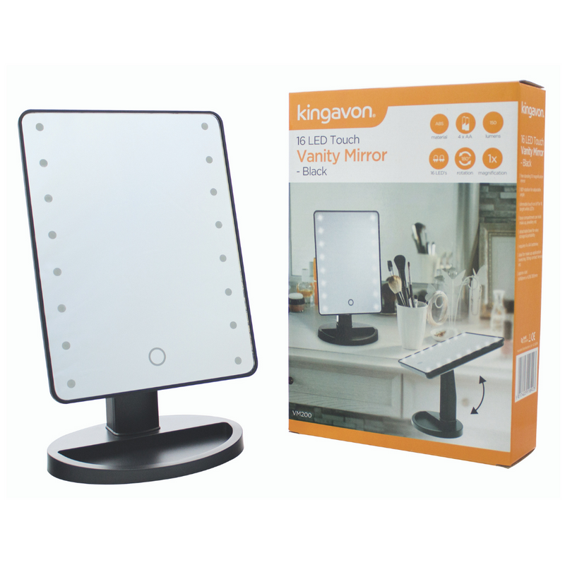 Kingavon LED Touch Vanity Mirror