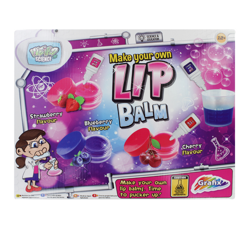 Grafix Labz Make Your Own Lipbalm Set