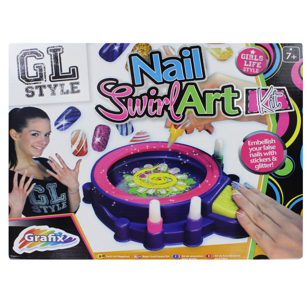Grafix Nail Swirl Art Kit
