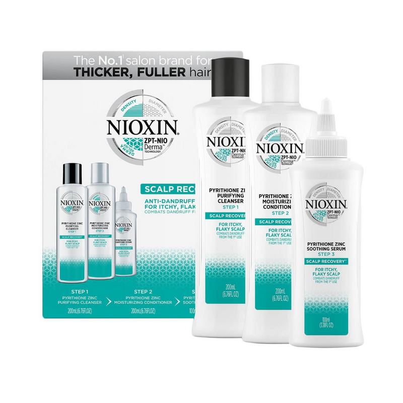 Nioxin Scalp Recovery Anti-Dandruff 3-Step System Haircare Kit
