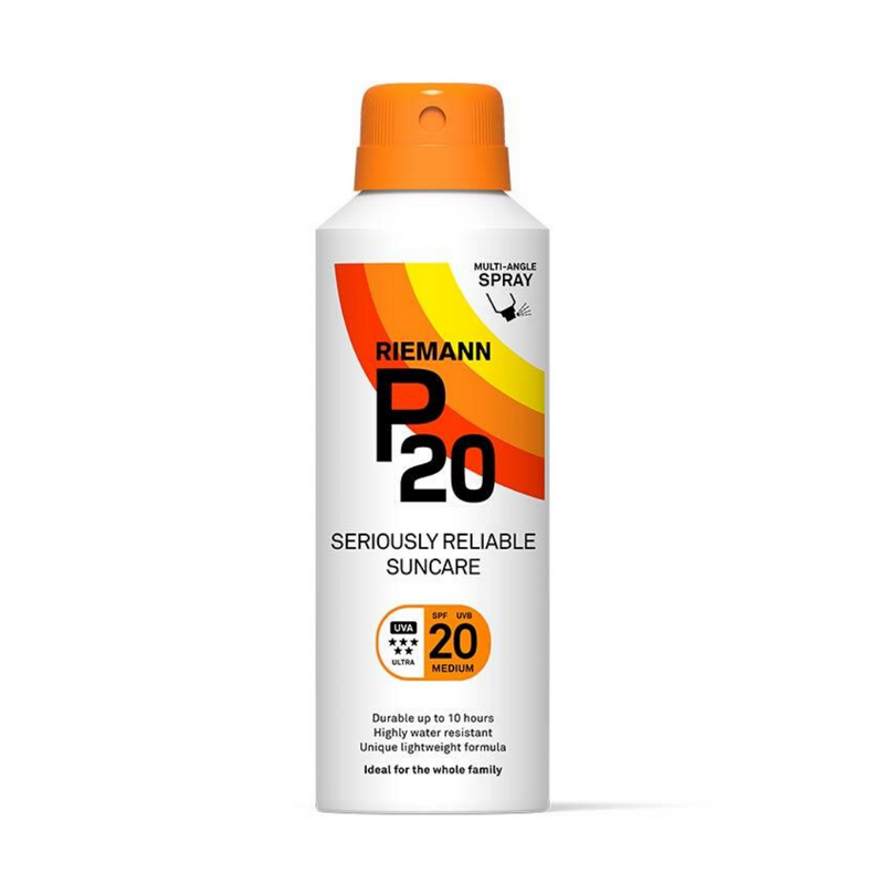 Riemann P20 Multi-Angle Spray Sun Lotion SPF20