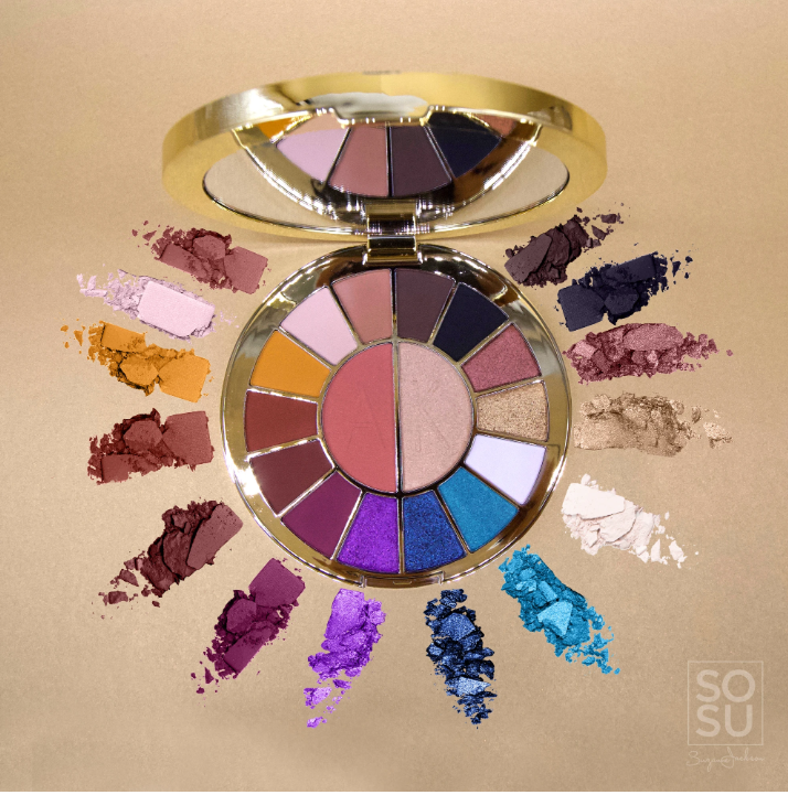 SOSU by SJ x Aideen Kate Face & Eye Palette