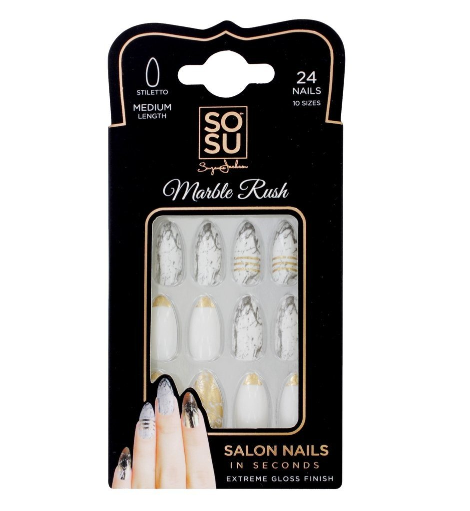 SOSU by SJ Marble Rush Nails