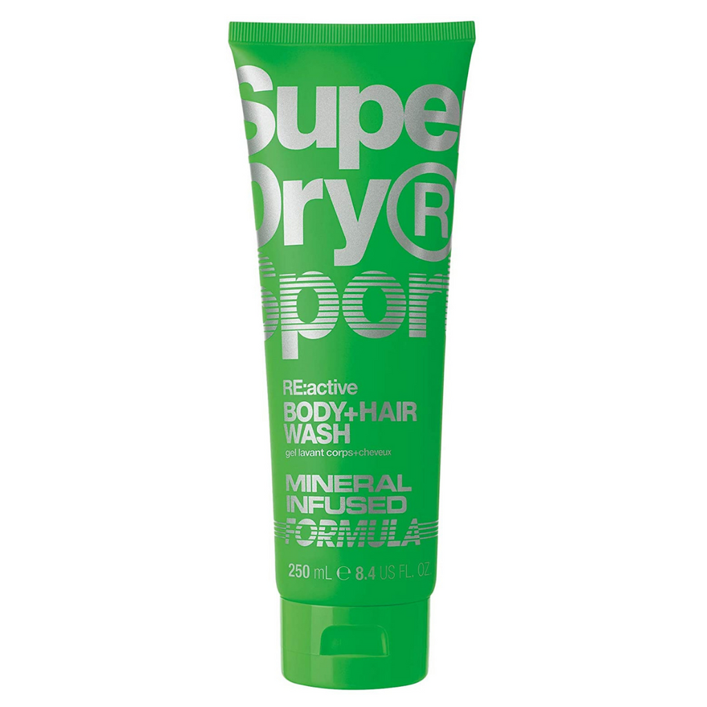 Superdry Re:Active Mineral Infused Body + Hair Wash 250ml