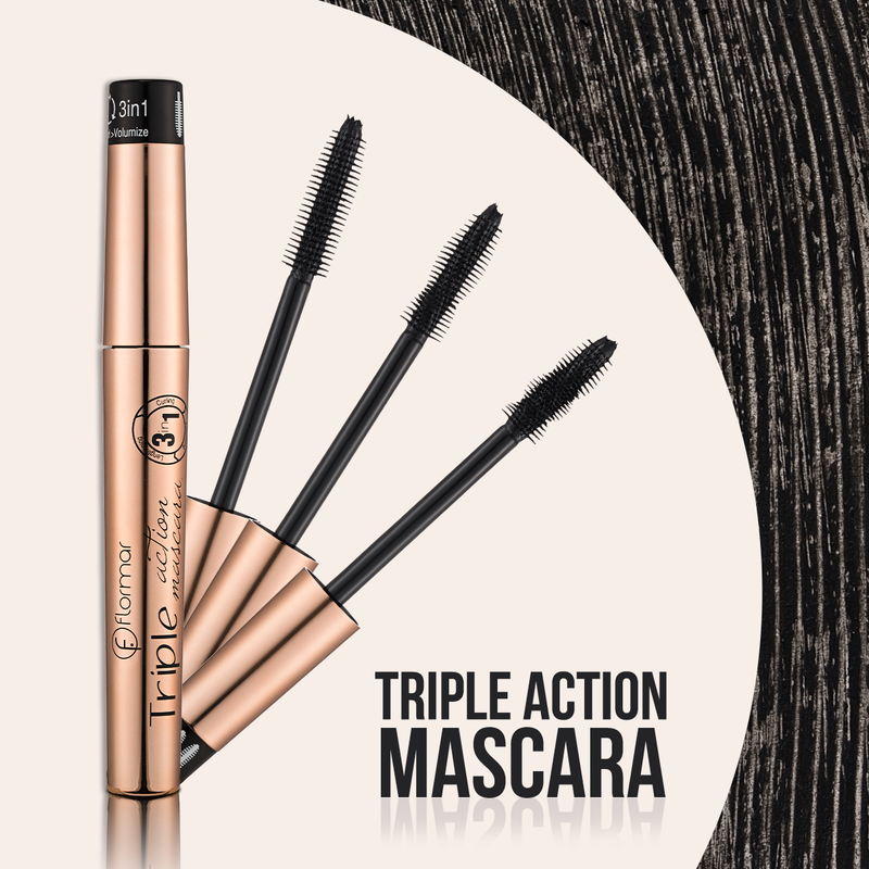 Flormar Triple Action Mascara