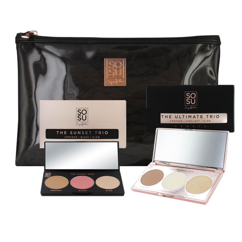 SOSU by SJ Trio Palette Bundle Gift Set