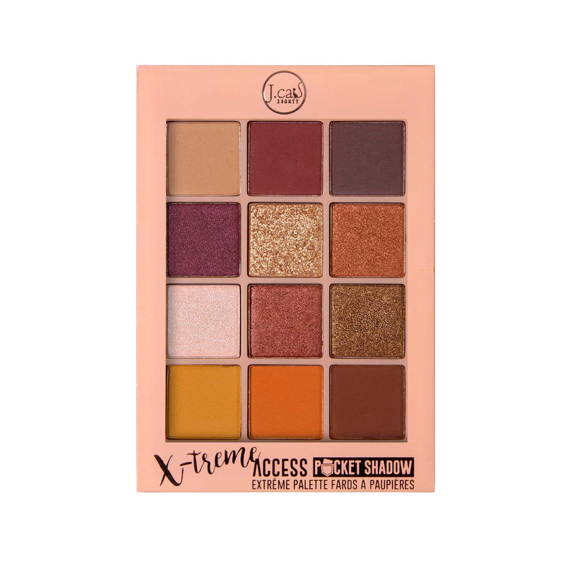 JCAT X-treme Access Pocket Eyeshadow Palette Walk Of Stardom