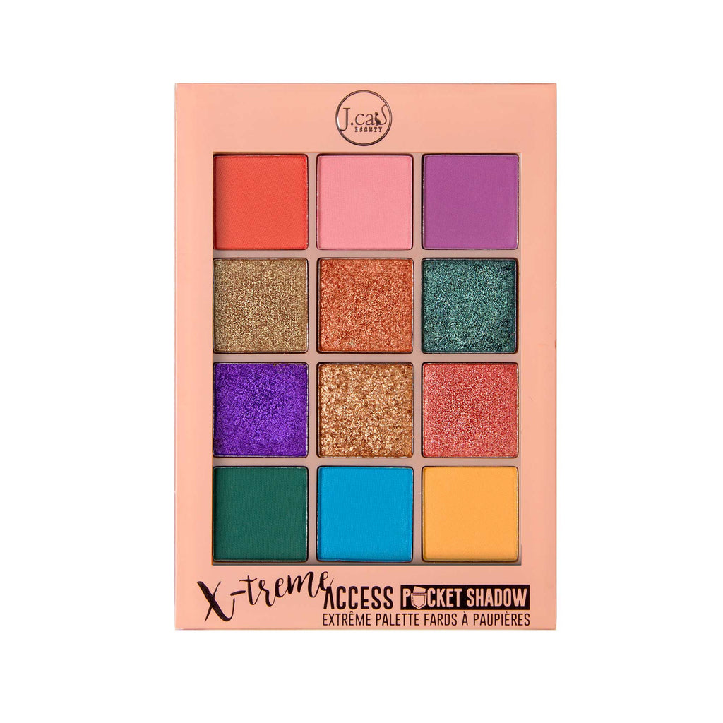 JCAT X-treme Access Pocket Eyeshadow Palette Pops Of Paparazzi