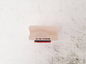 Occupy Mars - Space Logo & Astronomy Rubber Stamp - Outer Space Martian Stamp