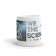 We The Sciencey Nebula Mug: Left Handed
