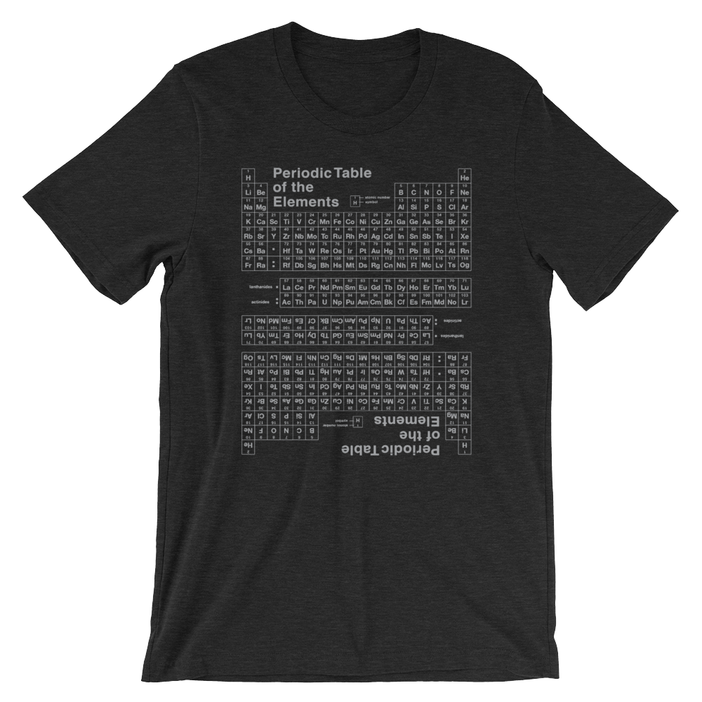 Periodic Table Reverse T-Shirt