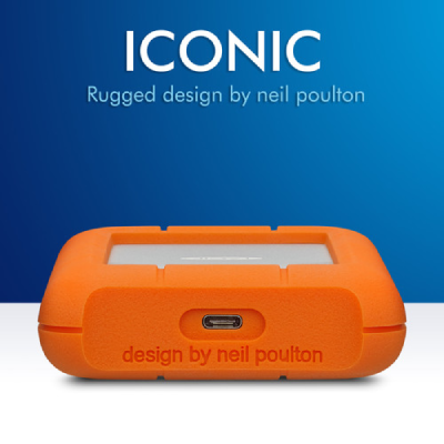 LaCie Rugged USB 3.1 Type-C 1TB / 2TB / 4TB / 5TB