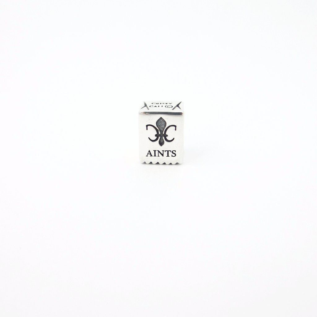 New Orleans Aints Paper Bag Couture Charm