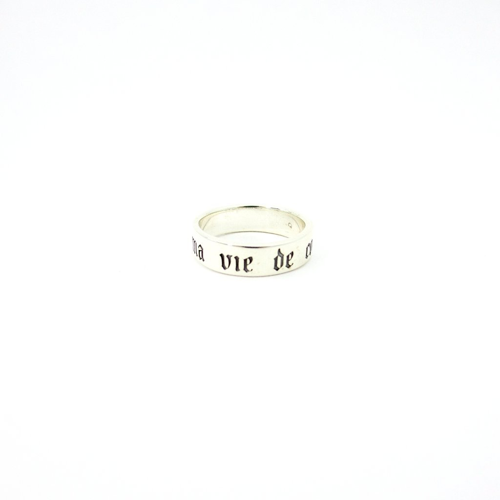 "A Ma Vie, ""My Heart My Life"" Ring"