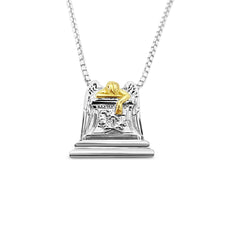 Angel of Grief Mixed 18K Gold