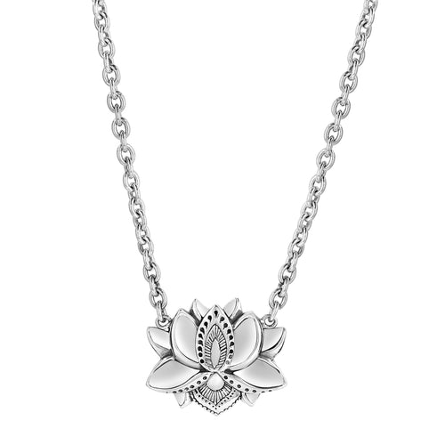 Nefertem's Lotus Flower Necklace