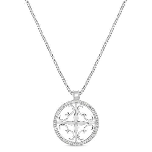 Cali Amulet with Diamonds - Medium
