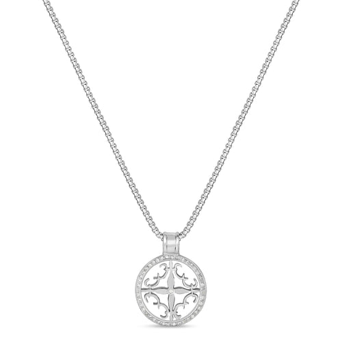 Cali Amulet with Diamonds - Small