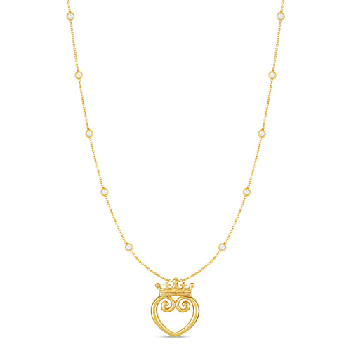 Queen of Hearts Solid 18K - Medium
