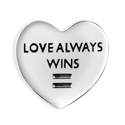 Precious Love Always Wins Couture Charm - CHRISTMAS PREORDER