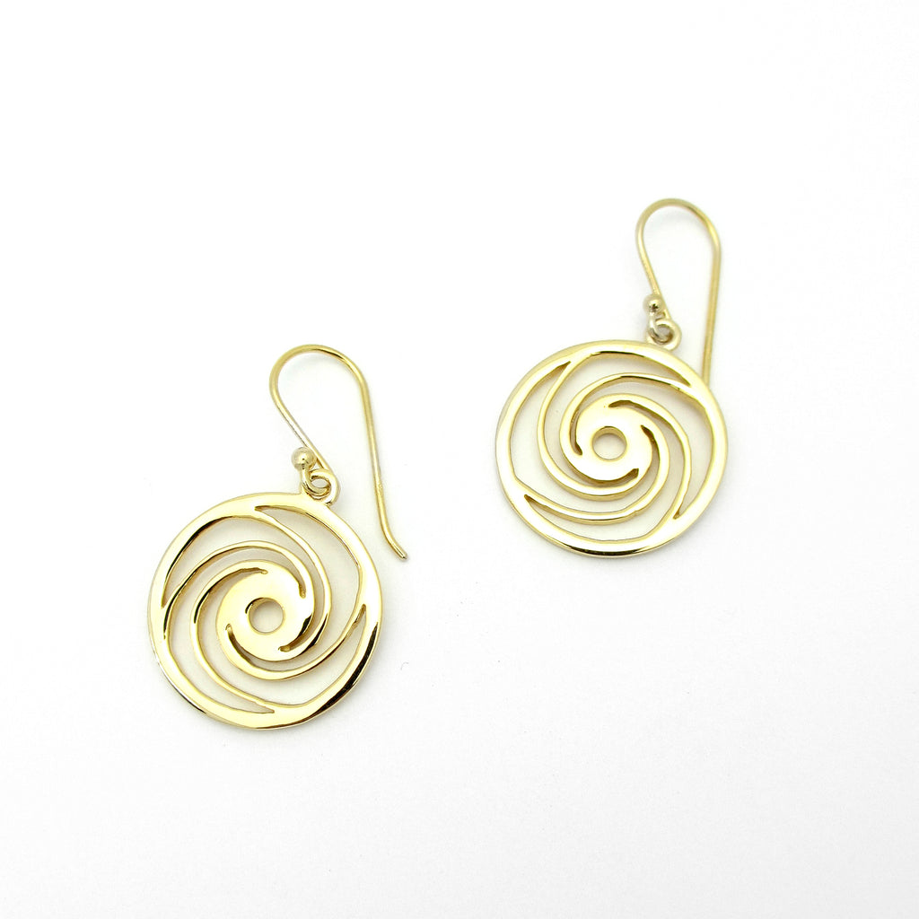 Eye Of The Storm Earrings - Gold