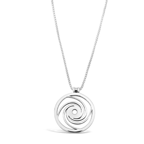 Eye of The Storm Amulet 18K