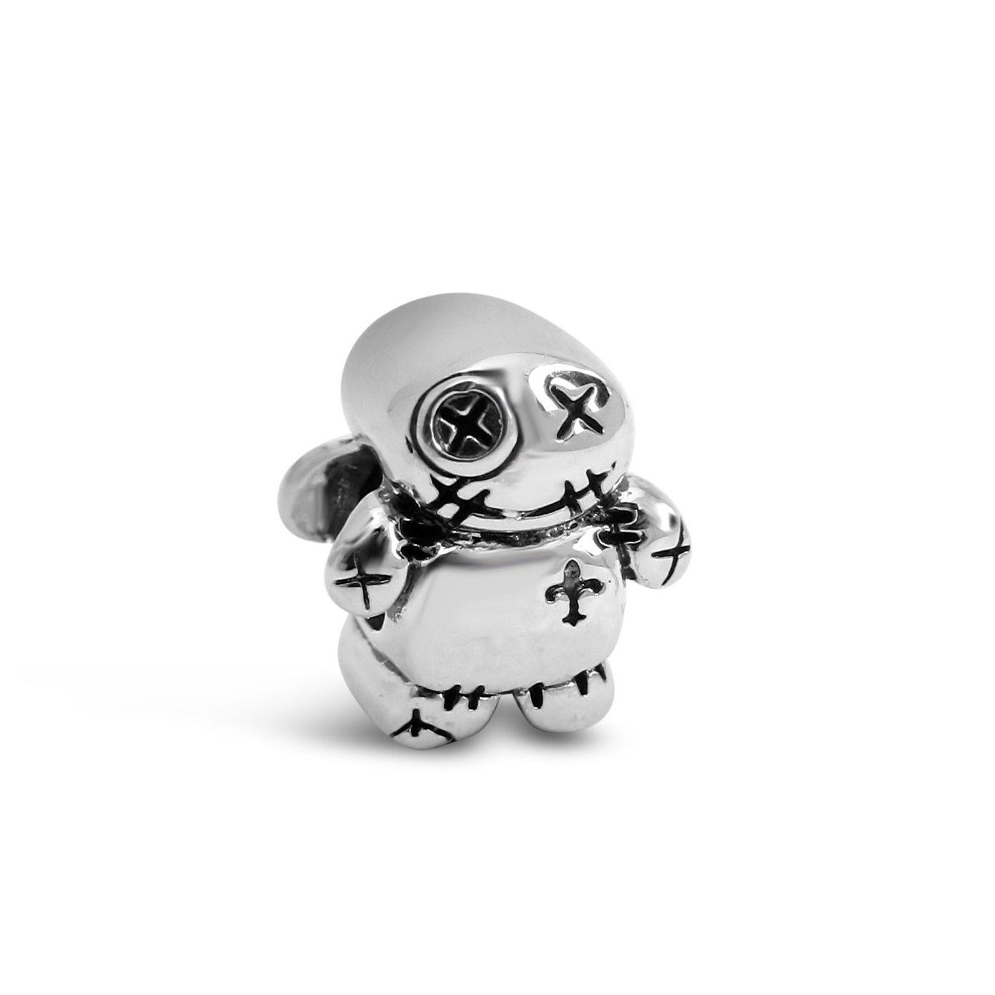 "Button-Eyed ""Bubba"" Voo Doo Doll Couture Charm"