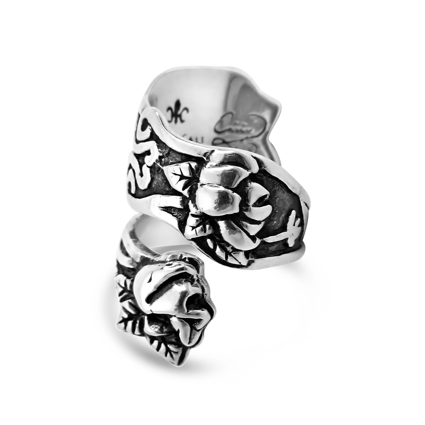 Magnolia Spoon Ring