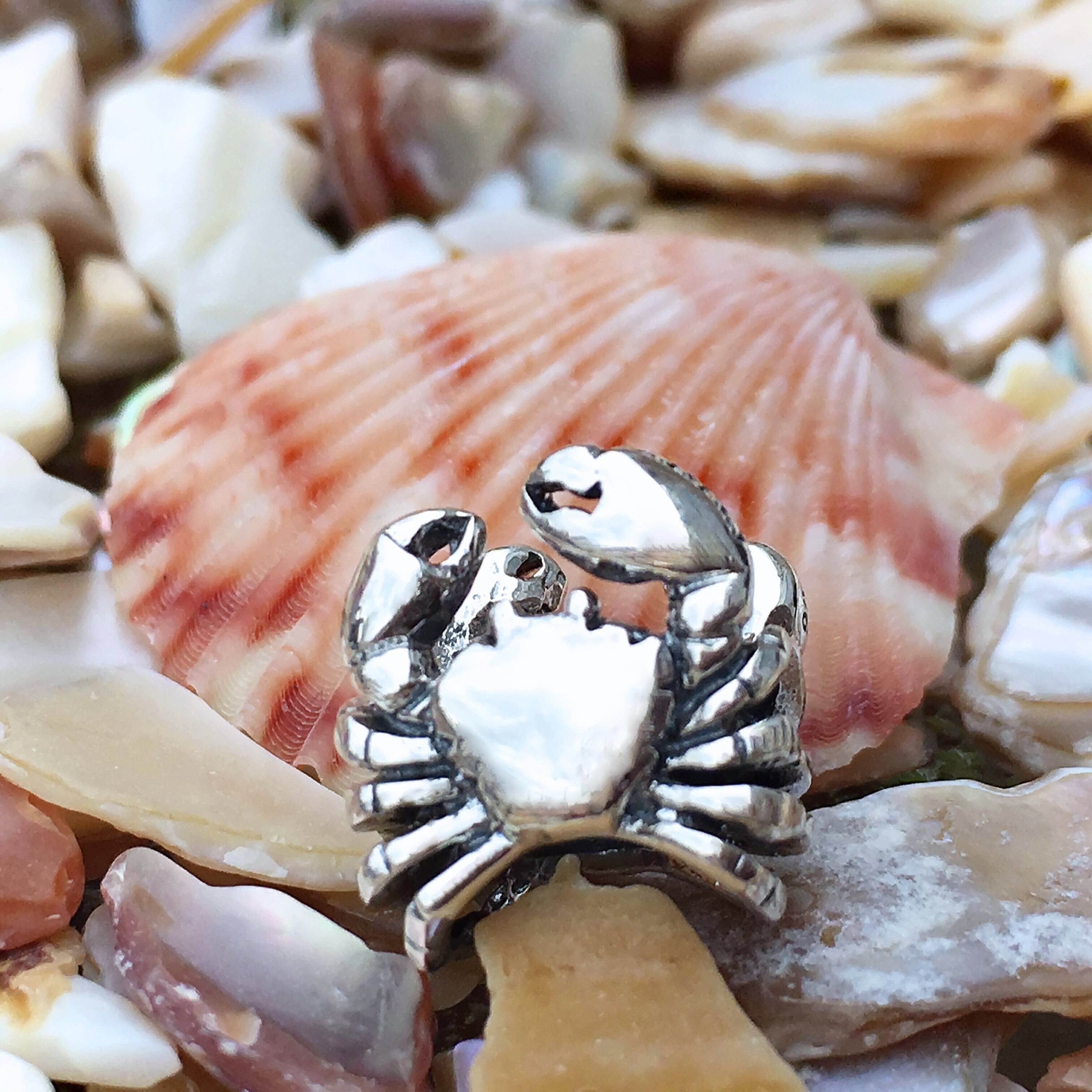 Crab Couture Charm