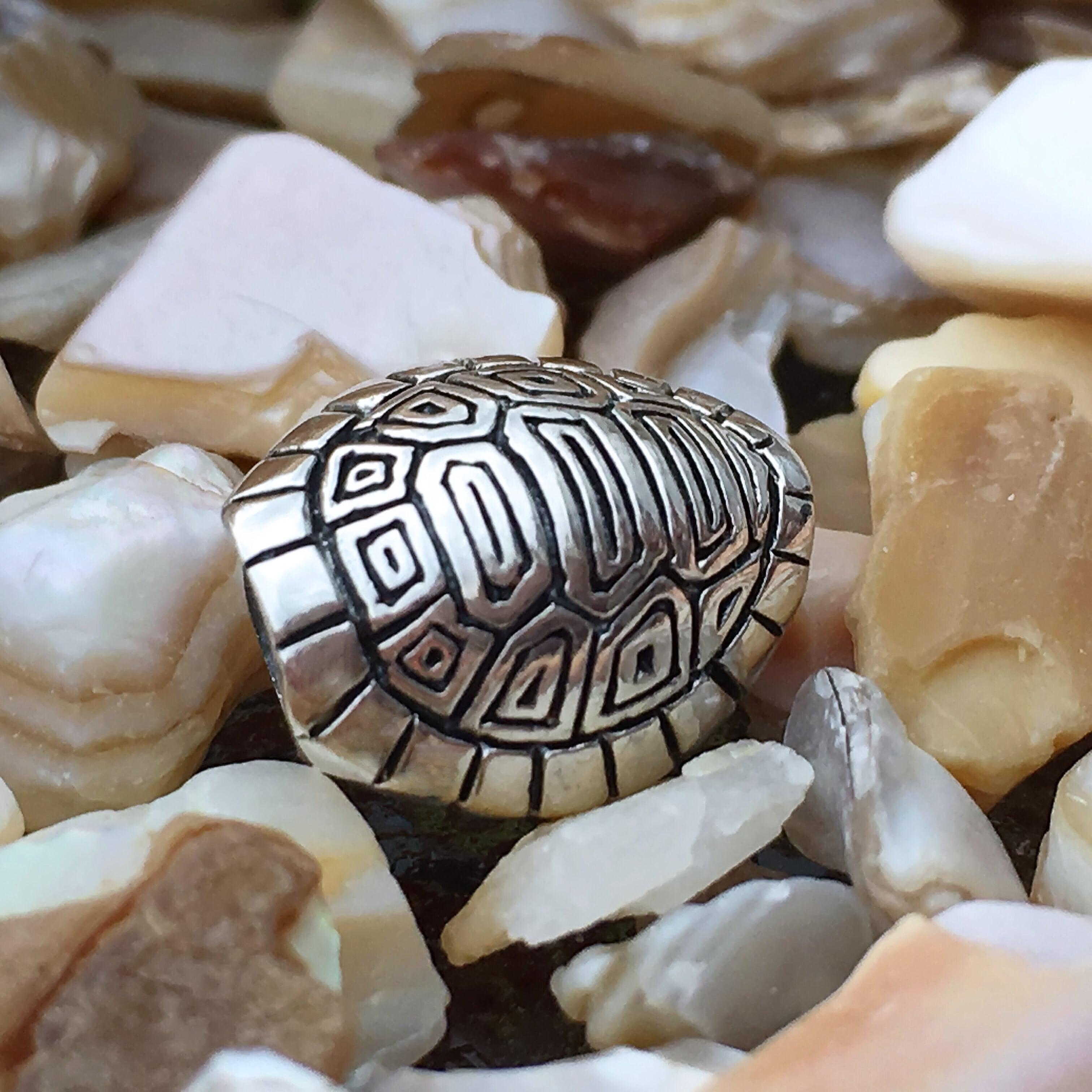 Turtle Shell Couture Charm
