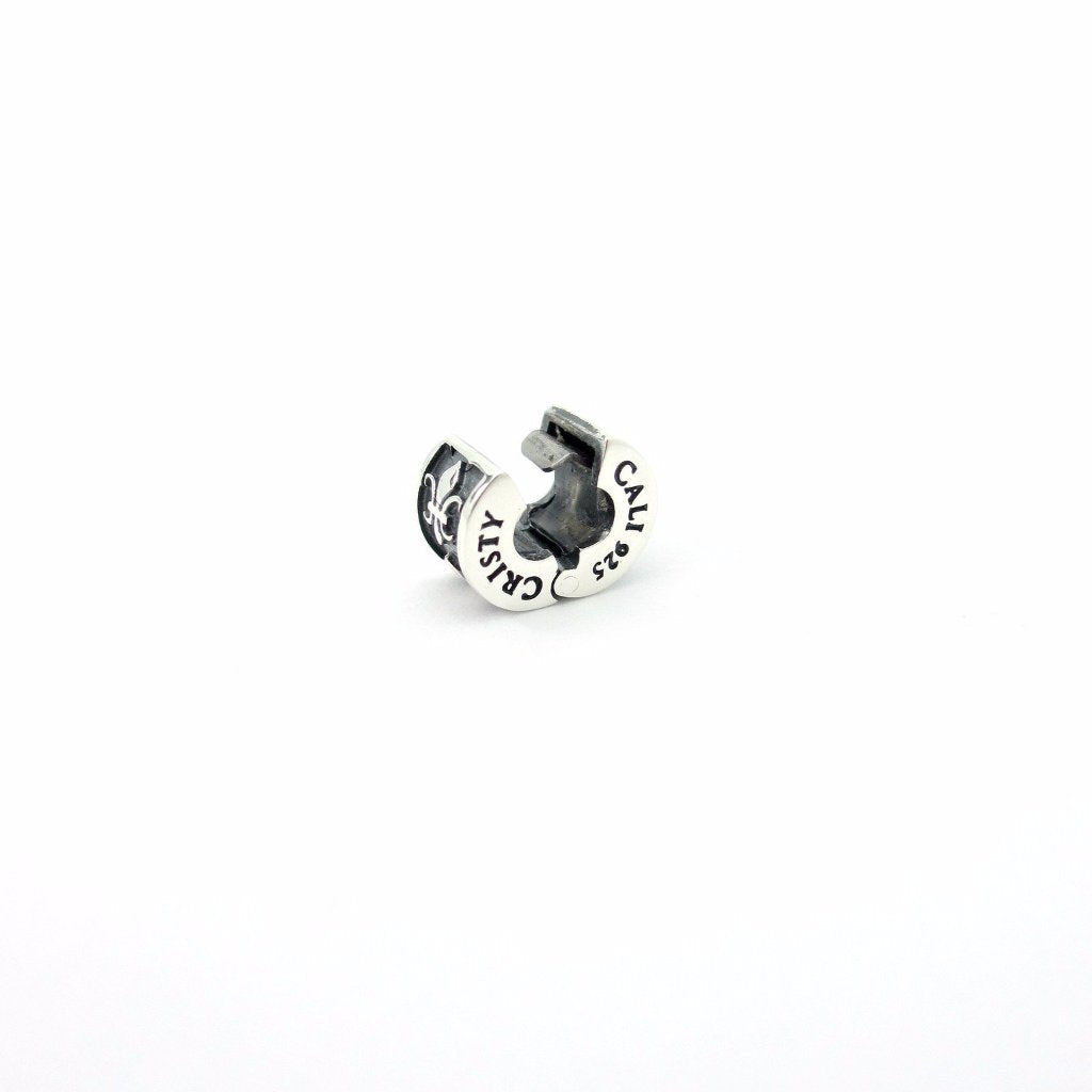 Logo Couture Stopper Clip Horizontal