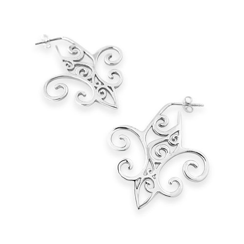 Lola Ironworks Fleur de Lis Earrings