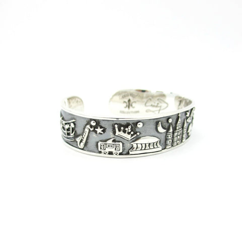 Crescent City Louis Armstrong Edition Cuff Bracelet