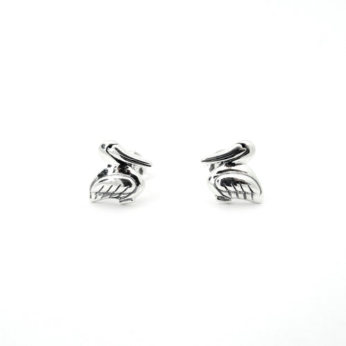 Pelican Mini Stud Earrings