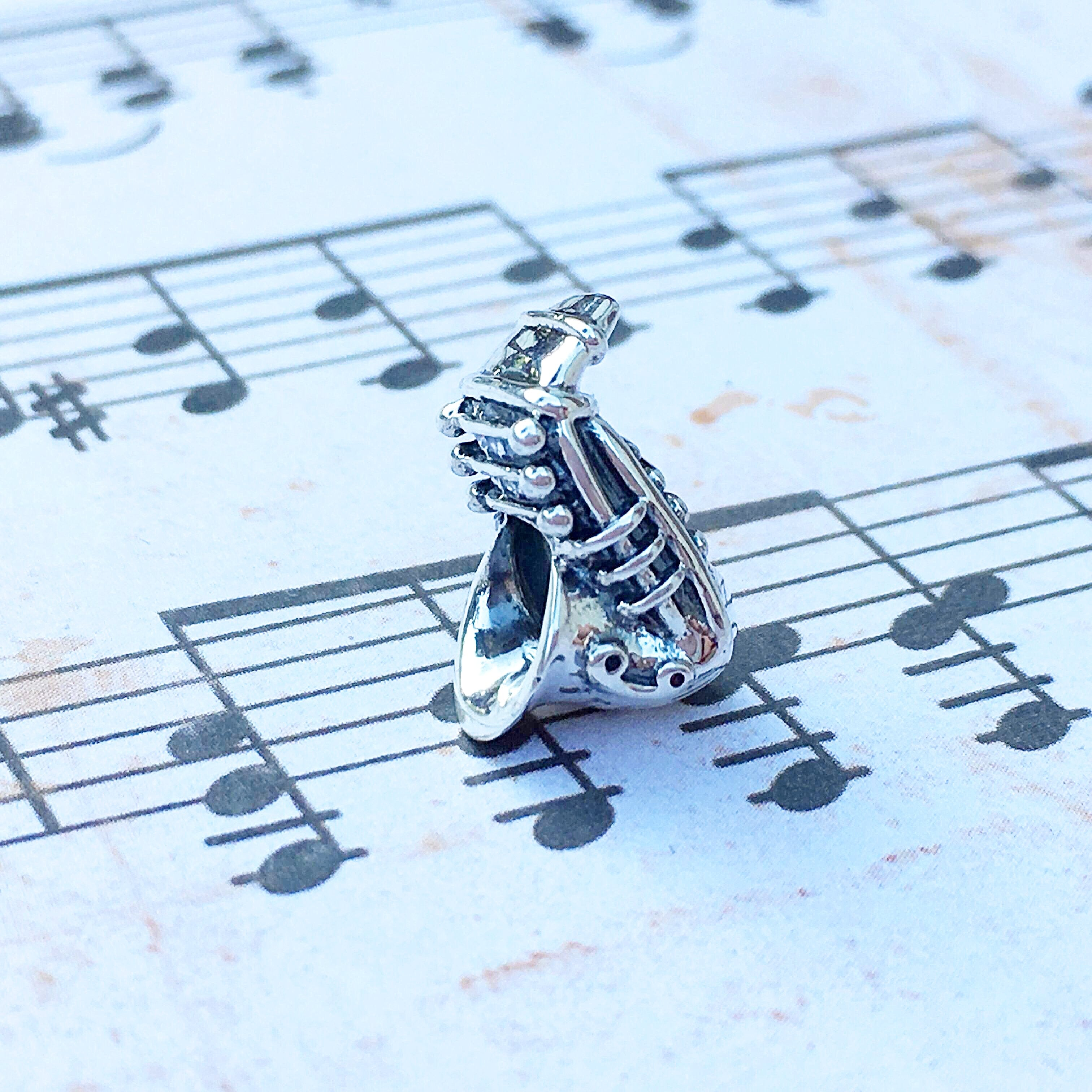 Saxophone Couture Charm