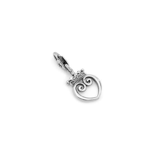 Queen of Hearts Clip Charm