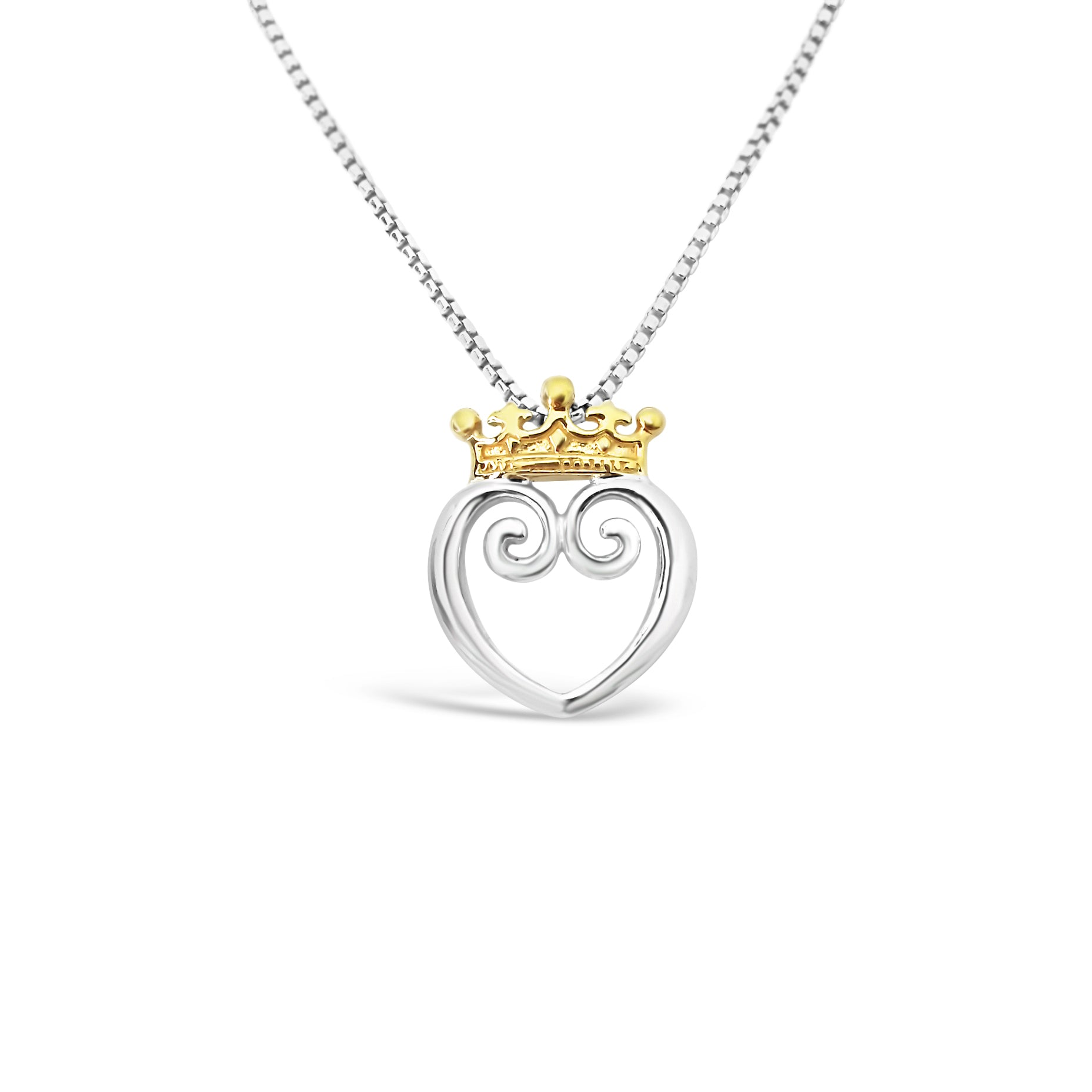 Queen of Hearts Mixed 18K - Small
