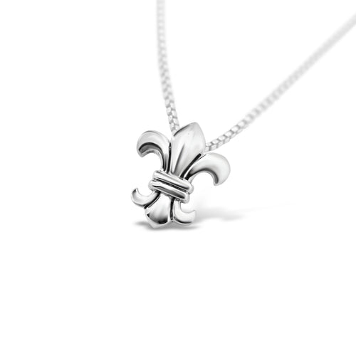 Loyalty & Dedication Fleur de Lis Dainty Pendant