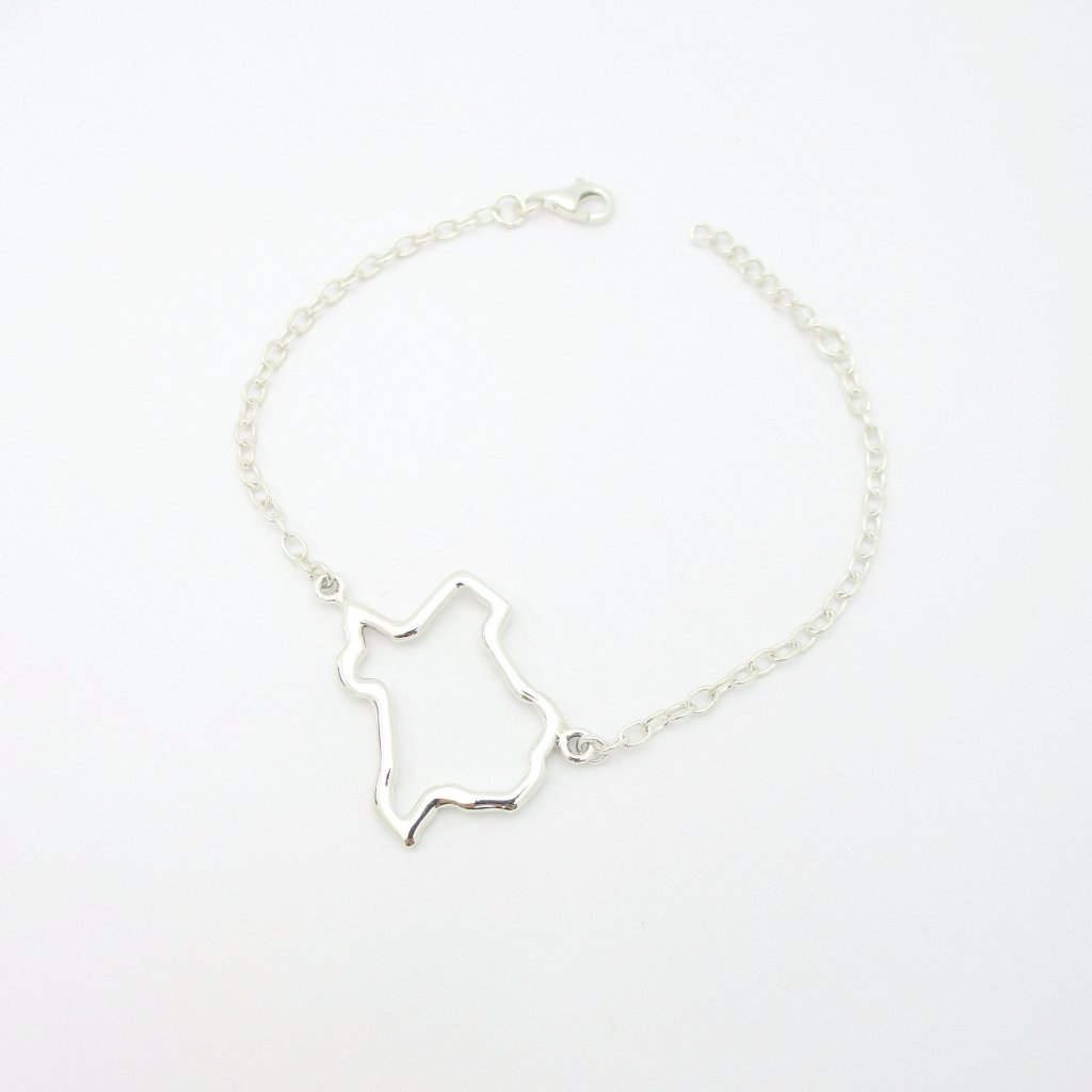 Texas Outline Bracelet