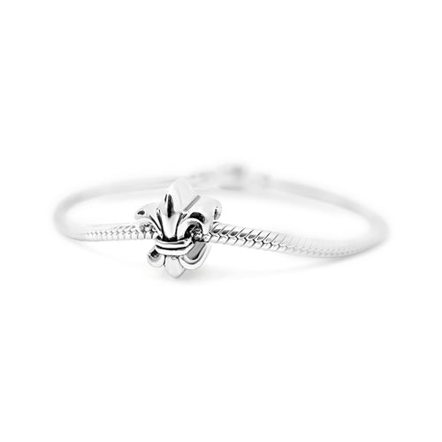 Loyalty & Dedication Fleur de Lis Couture Charm